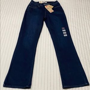 NWT Levi's 529 jeans curvy bootcut size 6 W28 L34